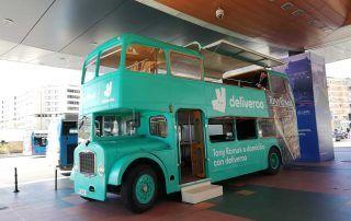 Deliveroo | Campaña Evento Gastrobus. A Global Agency